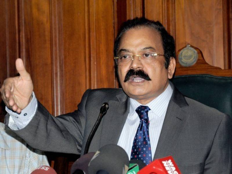 Rana SanaUllah taken to task after criticism on Military Courts