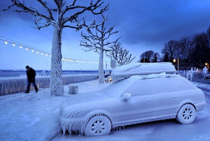 Severe cold wave grips Europe, with no signs of waning