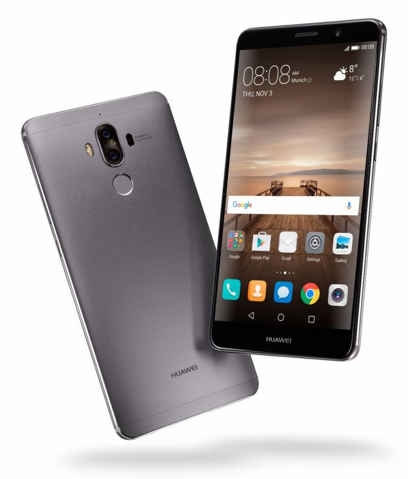 Huawei Mate 9 makes history by winning 8 Awards at CES 2017