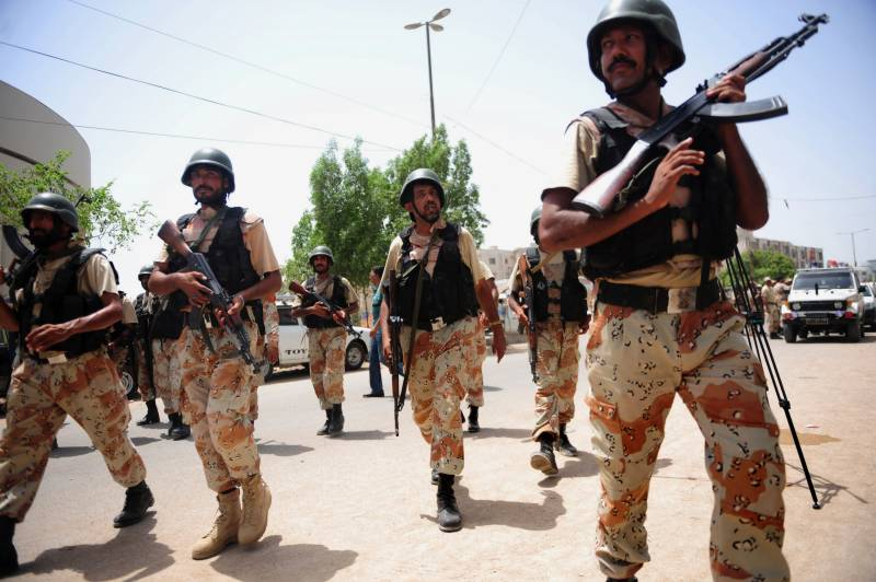 'MQM militant wing' weapons recovered from Karachi graveyard