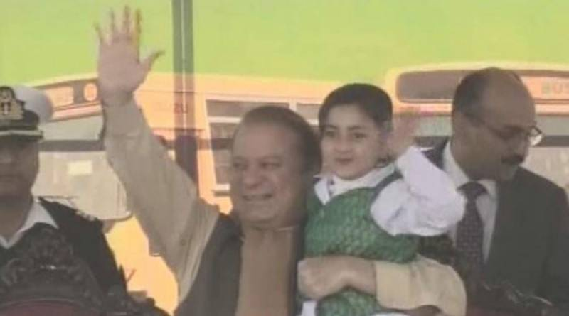 PM Nawaz distributes new buses to 422 schools in Islamabad