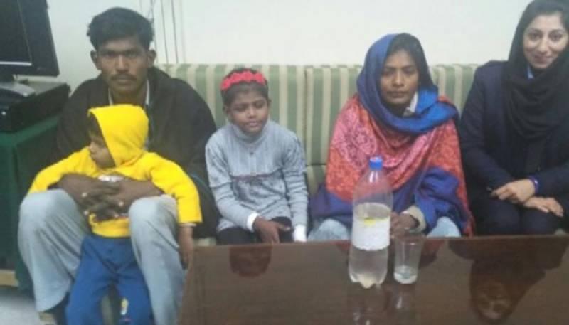 Tortured child maid Tayyaba brought to SC