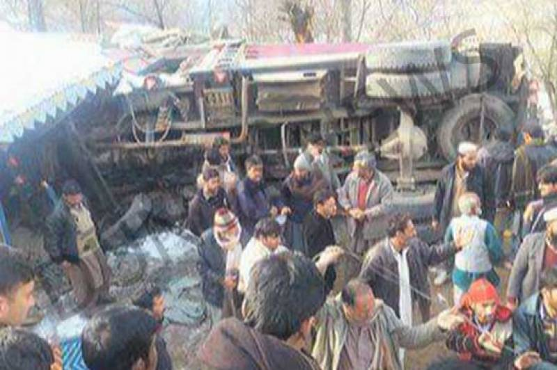 2 students killed, over 30 injured as truck rams into school in Azad Kashmir