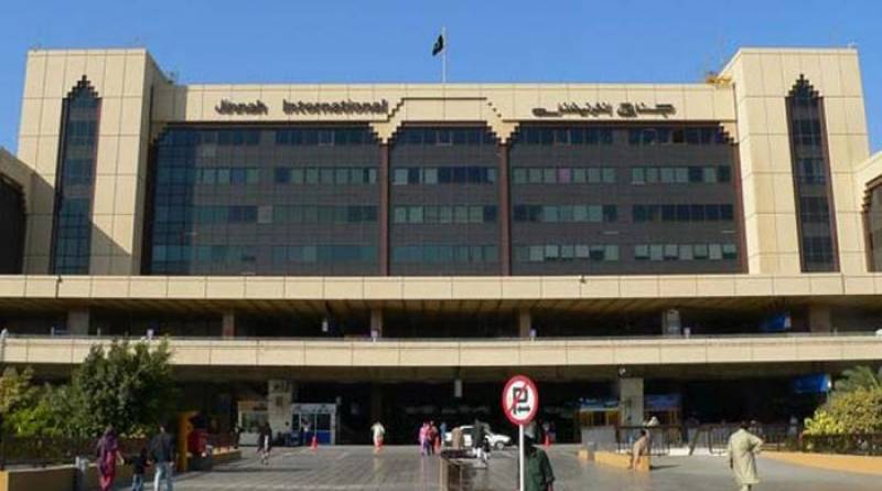 Airplane tyre bursts during landing at Karachi airport