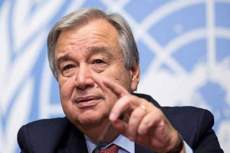 New UN chief proposes to mediate over Kashmir dispute