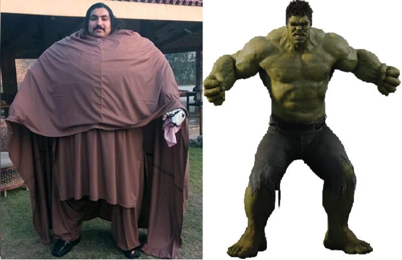 Pakistani Hulk dreams to be world's top wrestlers