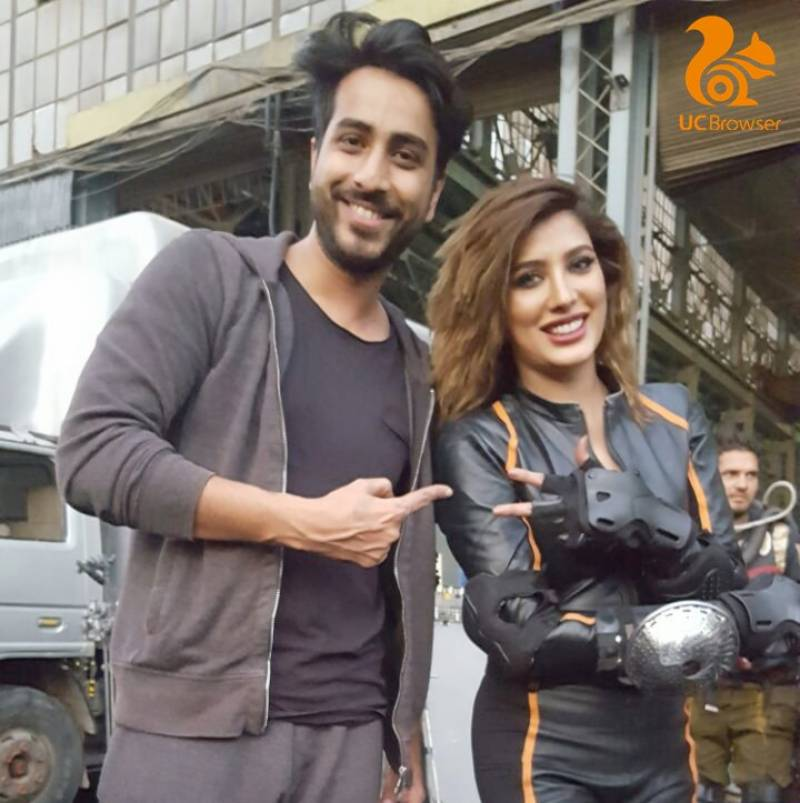 UC Browser set to wow its Pakistani customers; Mehwish Hayat as new face