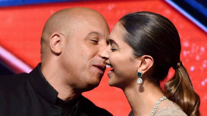 Watch: Deepika Padukone and Vin Diesel swing to 'Lungi Dance'