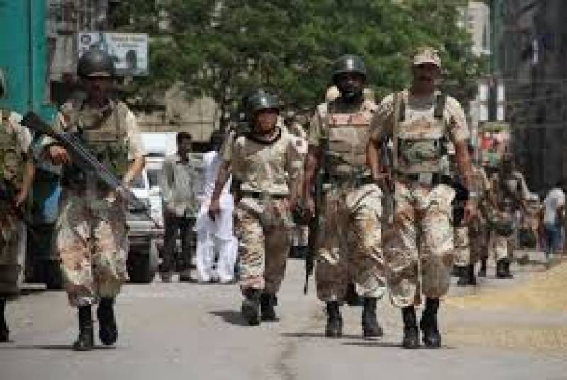 Delay in extending Pak Rangers authority until Sindh Cabinet debates the matter