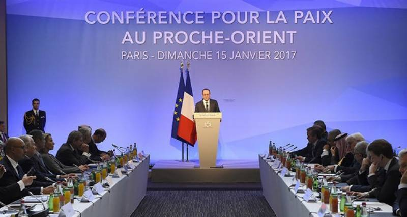 Two-state solution, only option for Palestinians, Israelis conflict: Paris summit