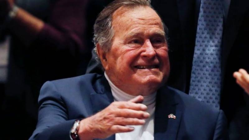 George H.W Bush, former US President hospitalized