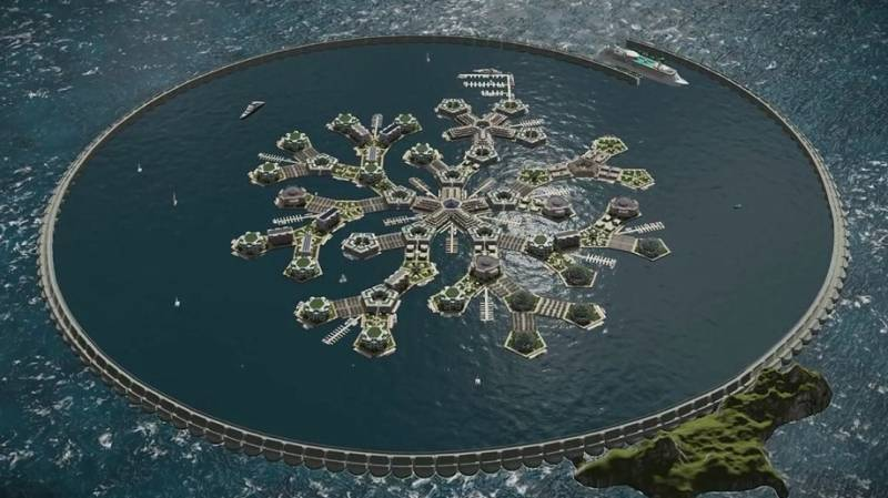 Plans of world's first 'floating city' unveiled