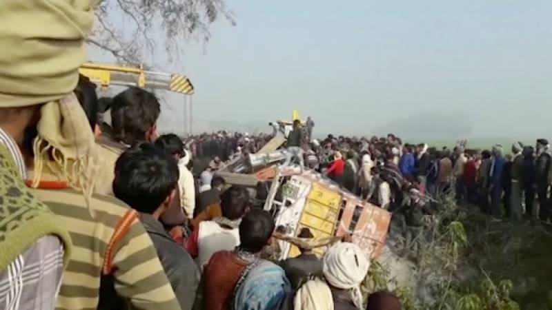 Bus, truck collusion in India leaves 24 children dead