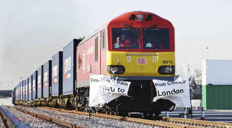 First 'Silk Road' freight train reaches UK from China