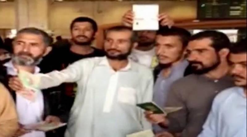 Malaysia deported 60-Pakistanis reach Pakistan