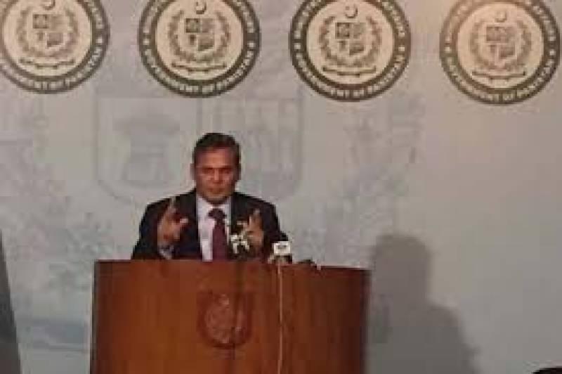 Pakistan has undeniable evidences if Indian involvement in Pakistan, says FO Spokesman