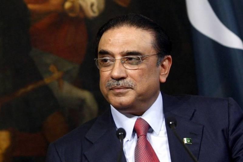 Zardari attends pre-inauguration oath ceremony of Trump