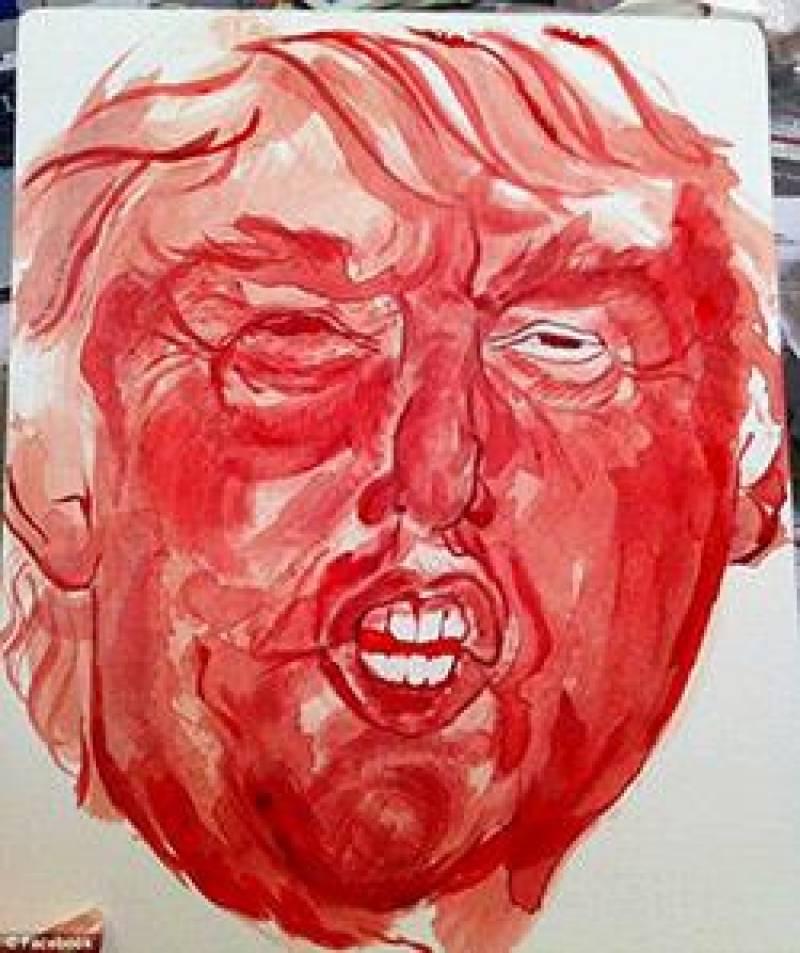 Bloodshed against Trump