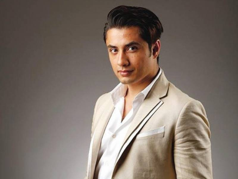 Ali Zafar uses Twitter to disclose the title of his first Pakistani film