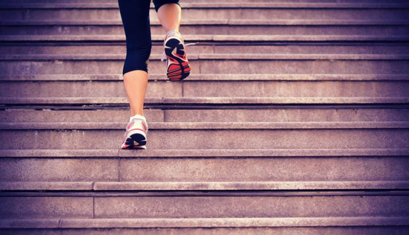 Take the stairs to be fit