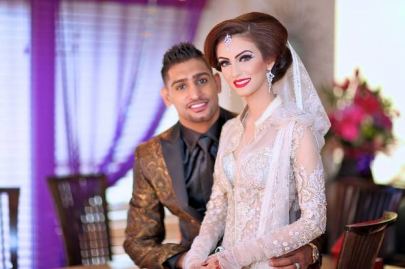Amir's 'sex tape' leaked for revenge, says wife Faryal