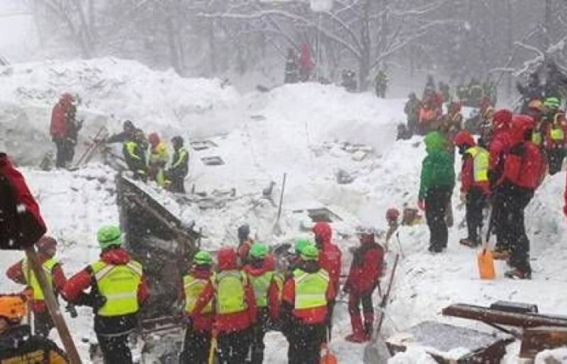 Italy avalanche toll rises to 14