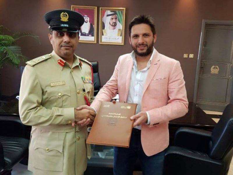 Shahid Afridi Foundation rescues 20 Pakistani prisoners in Dubai