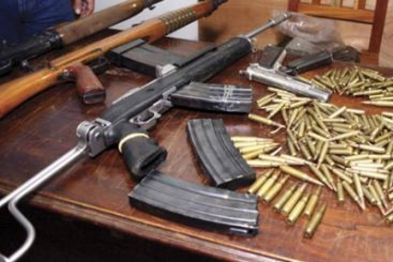 Police thwarted weapons smuggling attempt
