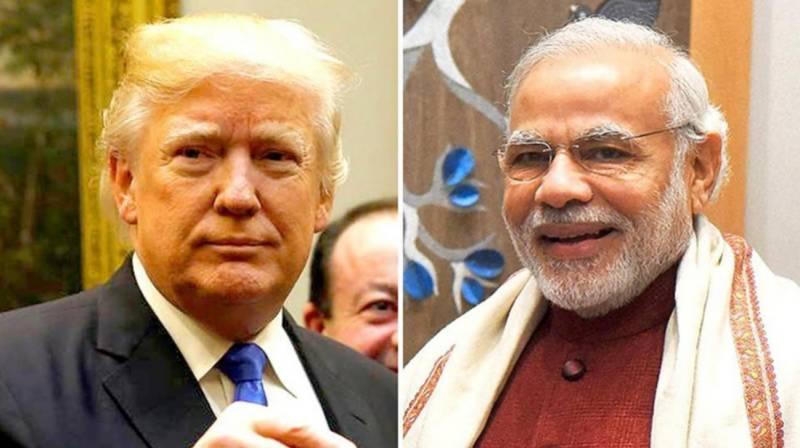Trump invites Indian PM Modi to visit US