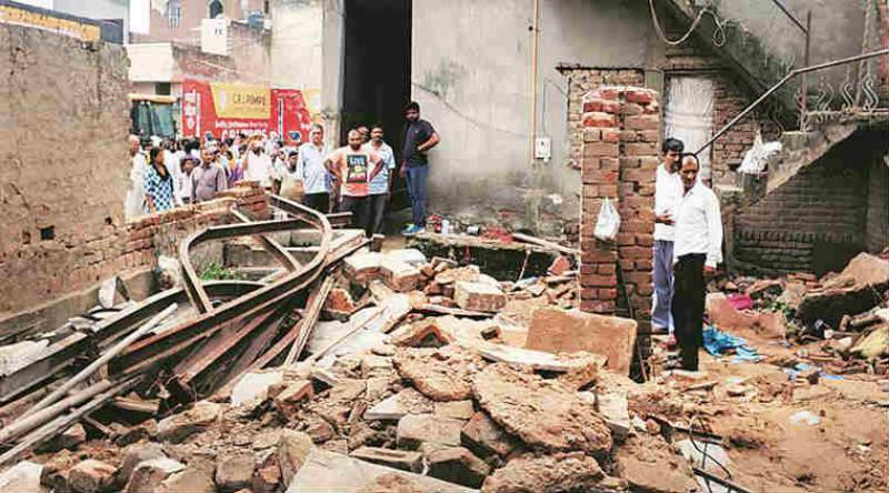 Four including mother, children killed in gas explosion