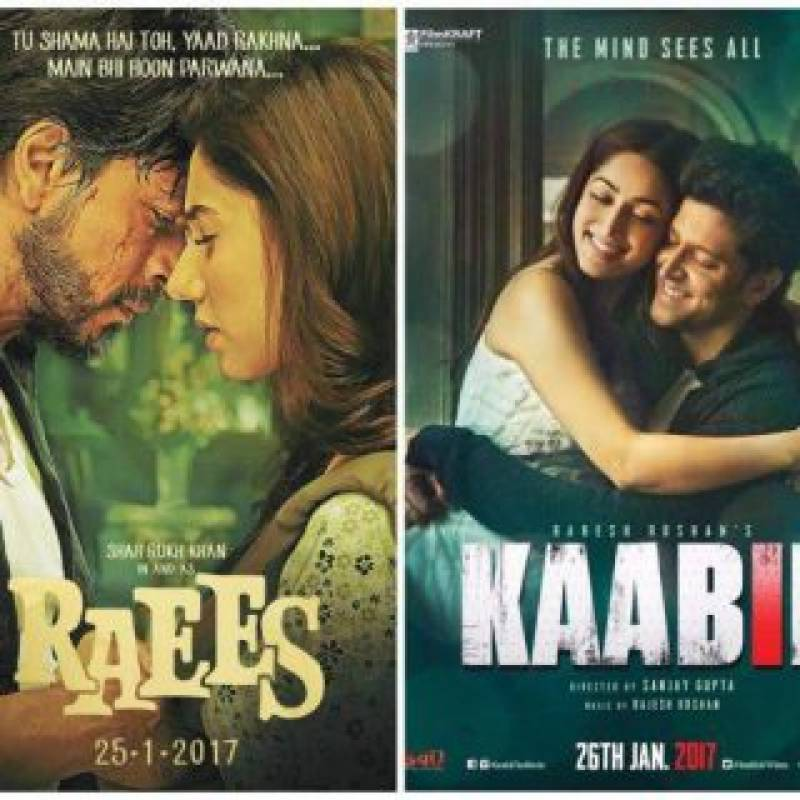 'Raees' beats 'Kaabil' at Box Office by about 300pc margin