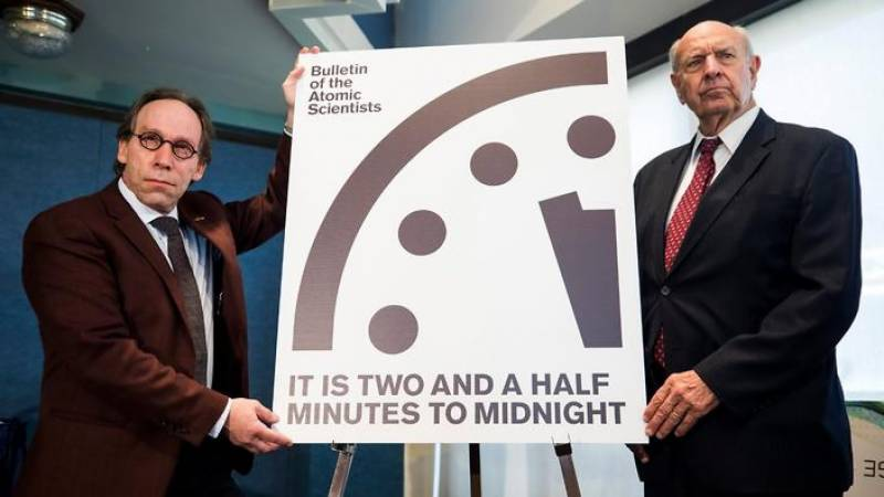 'Doomsday Clock' metaphor moves closer to midnight since Trump's comments