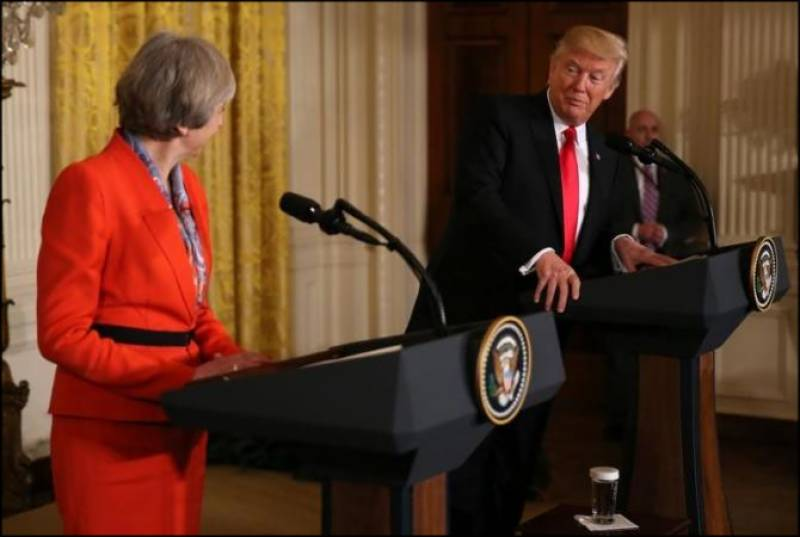 Trump and May seems to hold opposite stance on Russia sanctions
