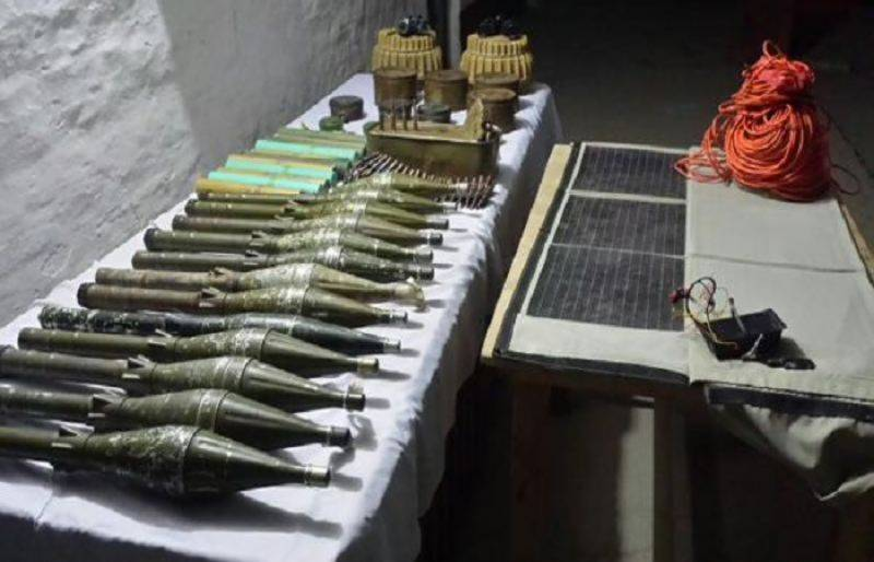 Heavy cache of weapons recovered from BLA's hideout: ISPR