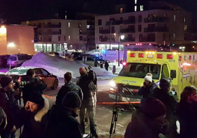 5 martyred in Quebec City mosque shooting in Canada