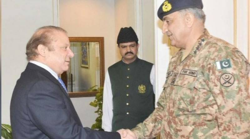 COAS Bajwa calls on PM Nawaz