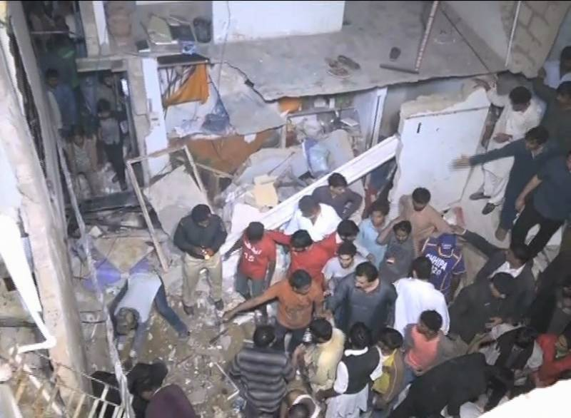 Two killed, five injured as building collapsed