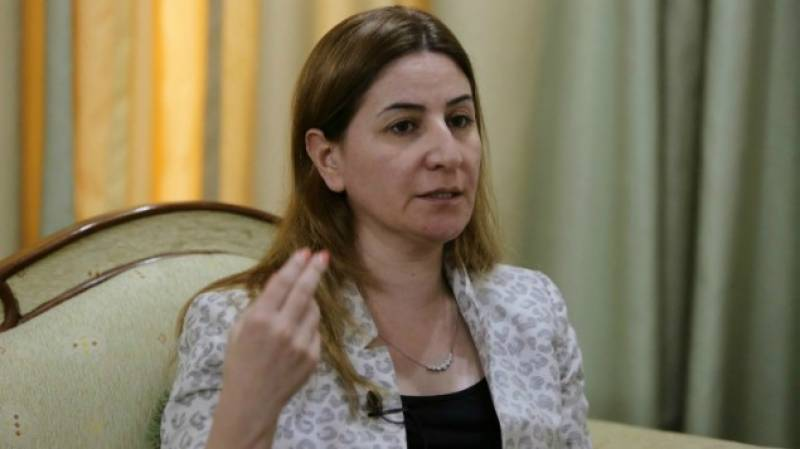 Yazidi lawmaker to miss US rights award after travel ban