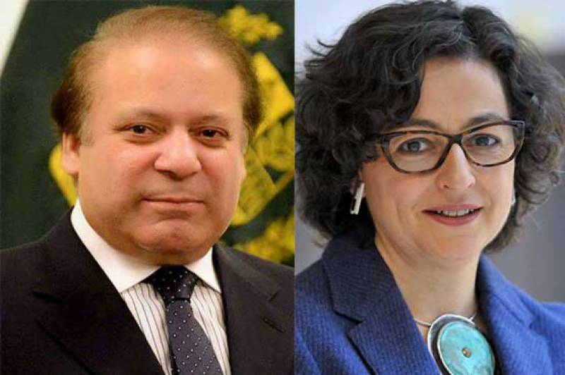 International Trade Center's executive director meets PM Nawaz