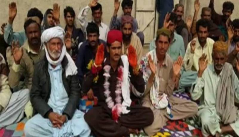 'Bilawal' stags sit-in for bride