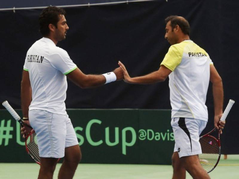 Davis Cup: Pakistan beats Iran in men's doubles category