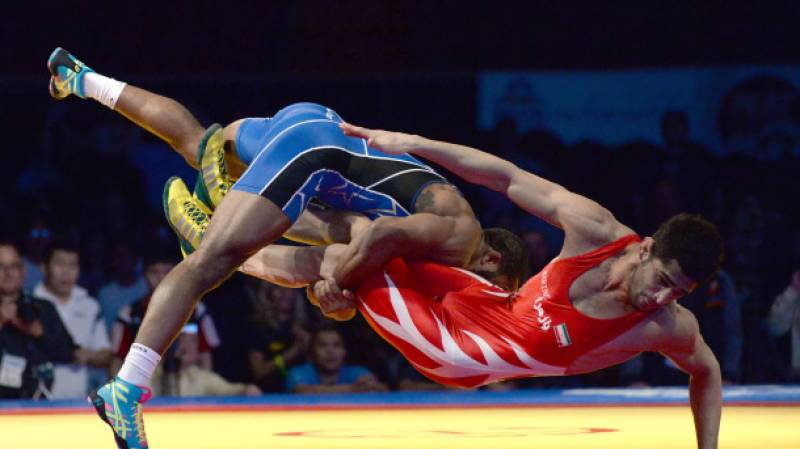 Iran bans US wrestlers in tit-for-tat move