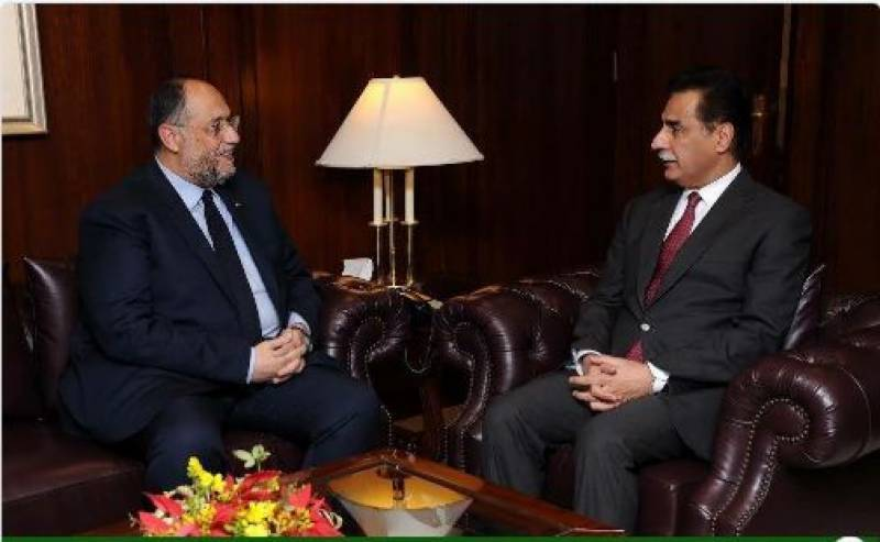 Egypt also want to be a part of CPEC, says Ayaz Sadiq