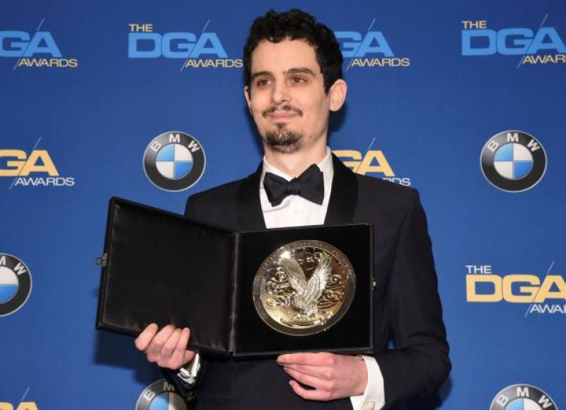'La La Land' director Chazelle wins top DGA award