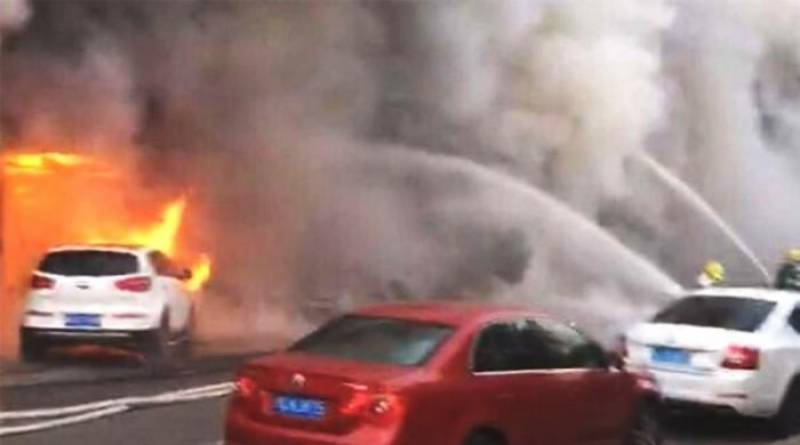 18 people burnt alive as fire engulfs Chinese massage parlour