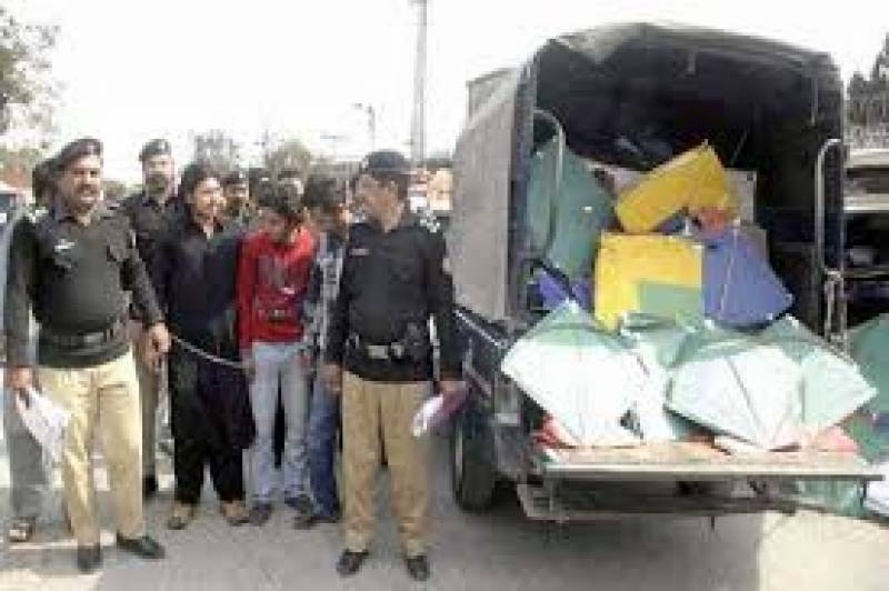 80 arrested in crackdown against kite flyers in Lahore