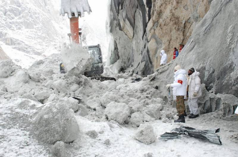 Area evacuated in Skardu as glacier glides towards population