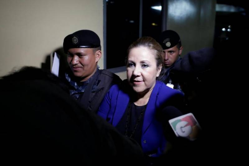 Guatemala detains Supreme Court judge in corruption probe