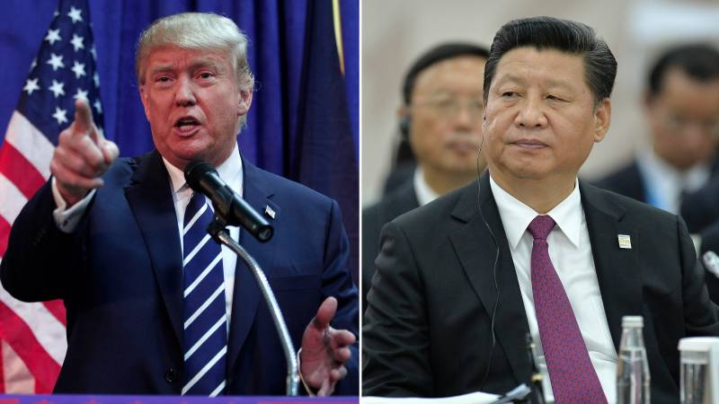 "Trump seeks ""constructive ties"" in letter to China's president"