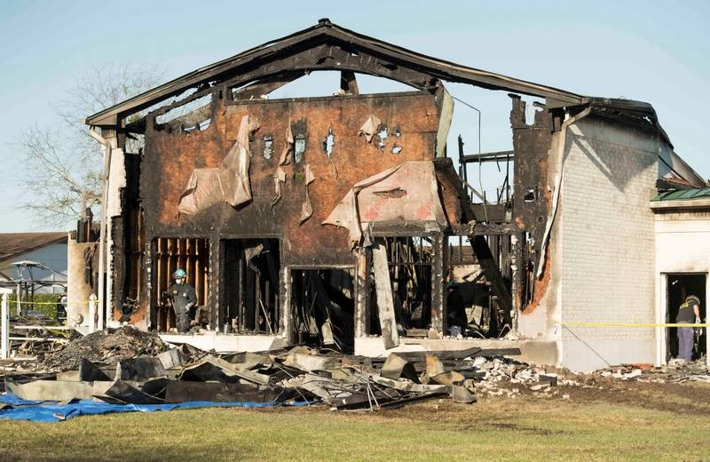 Victoria mosque fire: $30,000 bounty for information of arson
